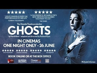 Digital Theatre, CinemaLive present Ghosts; first live Dolby Atmos production.