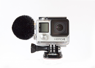 The Sennheiser action camera microphone for GoPro.