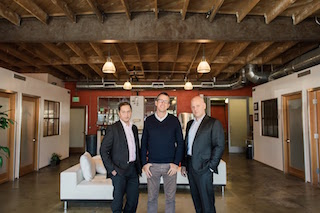 Left to right, GPL Technologies COO/CFO Hardy Parungao, CEO Brian Terrell, CTO Jason Blum.