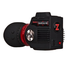 Zacuto's Gratical HD Micro-OLED electronic viewfinder