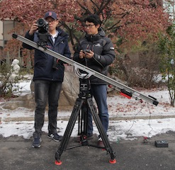 KBS used a Floatcam DC-Slider to film a documantary about food.