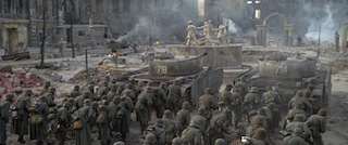 iPi Soft motion capture was used to create the crowd scenes in The Battle of Stalingrad.