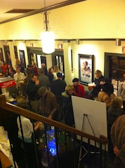 Free drinks were served at a winter screening of Doctor Zhivago to raise funds for a new heating system.