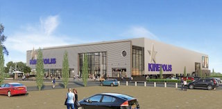 An artist's rendering of the Kinepolis Breda, the Netherlands, Europe's first all-laser cinema.