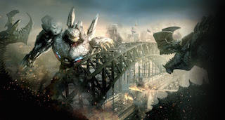As an example, Gershin points to the towering monsters and robots of Pacific Rim.