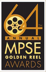 The 64th Annual MPSE Golden Reel Awards ceremony is slated for February 19.