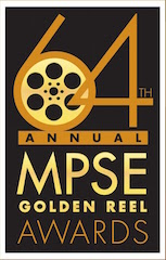 The Motion Picture Sound Editors today announced nominees for the 64th MPSE Golden Reel Awards.