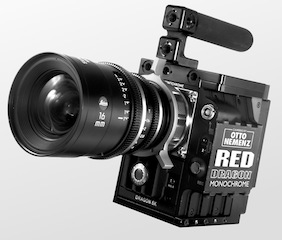 The Red Epic-M Dragon Monochrome