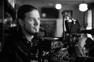 Cinematographer Judd Overton shot The Letdown with Panasonic VariCam LT cameras. Photo by Daniel Asher-Smith.