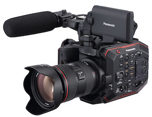 Panasonic today released additional information, including pricing and specification data, about the AU-EVA1 5.7K handheld cinema camera.