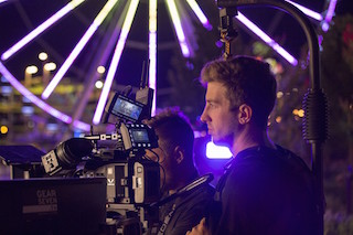 DP Colin Noel shooting Bronze Radio's Only Temporary.