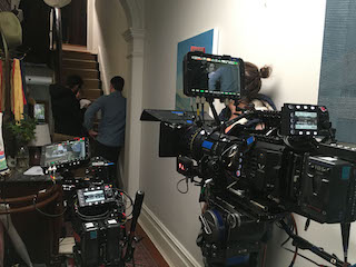 The VariCam LT is a light camera that can be quickly switched between production mode, handheld, or Steadicam easily so it was great to work with.