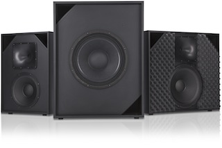 QSC Audio Products has introduced three new loudspeakers for small cinemas.