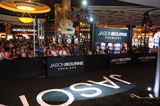 Jason Bourne premieres with QSC sound. Photo by Alex Berliner/Universal Pictures.