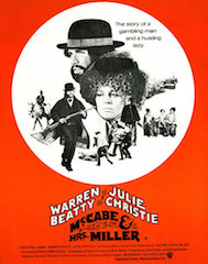 A restored print of Robert Altman's McCabe and Mrs. Miller is one of the movies to be screened at The Reel Thing.