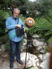 Feature film sound designer Frank Serafine with the DTS Headphone:X.