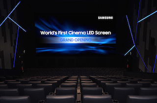 With the introduction of its LED Cinema Screen, Samsung has disrupted the professional cinema market.