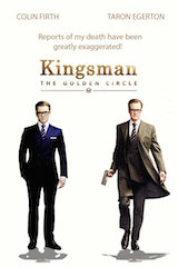 Kingsman: The Golden Circle is the first Twentieth Century Fox film to be converted into the ScreenX format