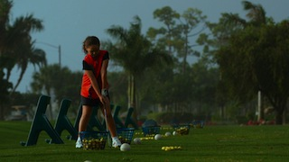 Junior Golfer Alexa Pano. Photo by Phase 4 Films and Samuel Goldwyn Films.