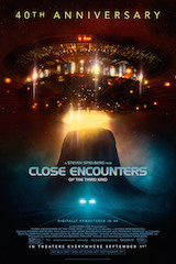 Sony Pictures will celebrate the 40th anniversary of legendary director Steven Spielberg's epic science fiction adventure Close Encounters of the Third Kind with a series of special events.