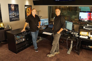 Foley artist Gary Hecker and Foley mixer Randy Singer.