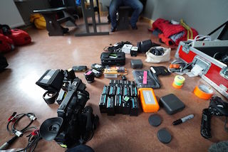 The crew kept their equipment list limited, bringing only Sony's FS5, two α7S IIs, 10 additional batteries, two lenses and more than a dozen 128GB Sony SD cards for this journey.