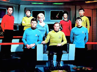 The 50th anniversary of the launch of Star Trek is this September.