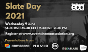 The Event Cinema Association's annual Slate Day will return Wednesday June 9 and will be free to all to join.