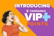 Fandango today launched its new rewards program, VIP+.