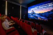 Arena Cinemas' Sihlcity in Switzerland today became the first theatre in the world to install a Samsung 3D Cinema LED Screen.