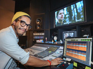 Michael Gross, sound editor and mixer of The Chain.