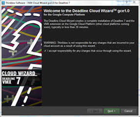 Thinkbox Software Deadline Cloud Wizard