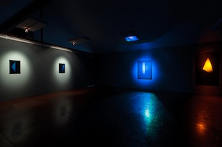 An exhibit of holograms by James Turrell