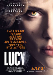 Lucy is among the movies in Dolby Vision and Atmos now available on Vudu.