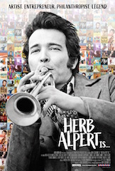 Theatrical distributor Abramorama will host the world premiere of the documentary Herb Alpert Is…. The global event will take place October 1 via Facebook Live and will feature a Q&A with Herb Alpert and director John Scheinfeld moderated by the Grammy Museum's artistic director Scott Goldman immediately following.