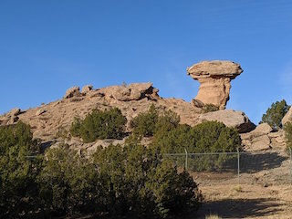 Camel Rock Studio is named after a natural rock monument located nearby.