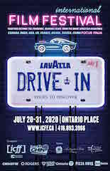 The Lavazza Drive-In Film Festival at Toronto's Ontario Place is set for July 20-31.