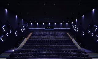 The larger auditoriums at Xi'an Zhengshang Suning Cinema are fitted with Christie CP2320-RGB projectors with Real|Laser technology. Photo courtesy of Suning Cinema.
