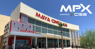Maya Cinemas is installing Cinionic Giant Screens in all its Maya Premier Experience auditoriums.