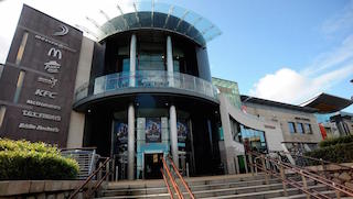 One of Spurling Group Cinemas multiplexes in Dublin, Ireland.