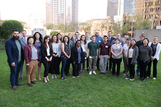 The Hollywood Professional Association's Young Entertainment Professionals class of 2020.