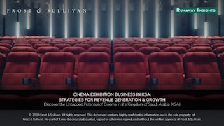 The loosening of restrictions on the media and entertainment sector by The Kingdom of Saudi Arabia has fueled the demand for public viewing of cinema in theatres. This positive development has created revenue generation opportunities for several stakeholders in the ecosystem, both nationally and internationally, as the region is one of few in the world where cinema exhibition is a new business.