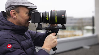 German cine lens manufacturer Ernst Leitz Wetzlar has added a Henri cinematographer's viewfinder to the new Leica SL2-S camera. The upgraded cine application of the new SL2-S was the main trigger for Leitz to collaborate on this project.