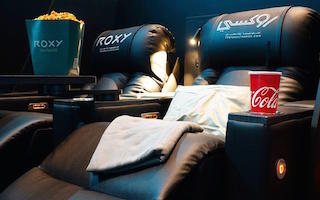 Roxy Cinemas chose NEC 4K RB laser projection systems to equip its new boutique multiplex at Al Khawaneej in Dubai, United Arab Emirates, which is finally opening after a series of delays caused by COVID-19.