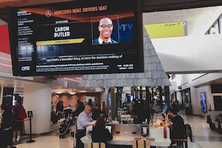 Screenvision Media today announced that ReachTV, the in-airport entertainment platform, will add Screenvision's Front + Center Everywhere to its lineup of original programming distributed at more than 90 U.S. airports.