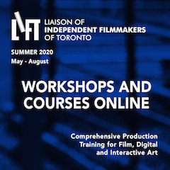 The Liaison of Independent Filmmakers of Toronto will host an online product demonstration titled Media Accessibility, Creative Captioning and Subtitling.