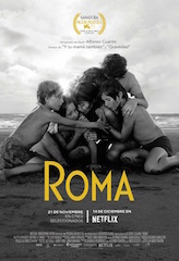 The Netflix film Roma. Streaming companies such as Netflix and Amazon are increasingly using subtitles.