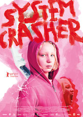 Among the movies available from YourScreen is the popular German film, System Crasher.