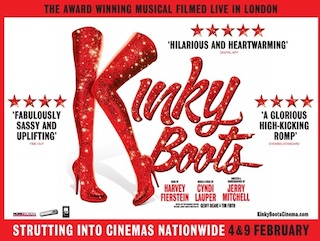 A new event cinema company – Art Screen Events – has been launched in Tasmania and its first presentation is the Tony, Grammy and Olivier Award-winning musical Kinky Boots, which will be screened later this month.