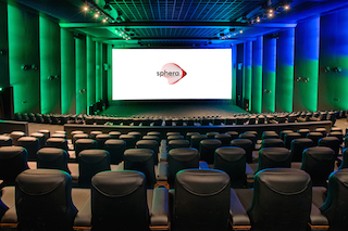 Greek exhibitor Village Cinemas has opened the first Sphera auditorium, CinemaNext's new premium format cinema concept, at its theatre at The Mall of Athens. Photo by Nikos Karanikolas.